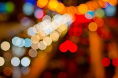 Abstract blurred colorful circles Royalty Free Stock Images