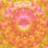 Abstract blurred colorful mandala Stock Photos