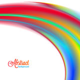 Abstract blurred colorful vibrant background Royalty Free Stock Images