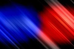 Abstract Blurred Colorful Wallpaper With Police Lights On A Background. Stock Photos