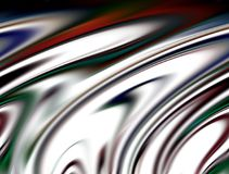 Abstract blurred blue silver green purple red white dark colors and background. Lines in motion. Abstract blurred colors and lines in motion, red, blue dark royalty free illustration