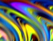 Abstract blurred blue silver green yellow colors and background. Lines in motion. Abstract blurred colors and lines in motion, red, blue, green, pink, purple stock illustration