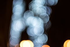 Abstract blurred Colurful bokeh Stock Image