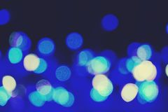 Abstract blurred Defocused image of night lights with motion blur background royalty free stock photos