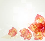 Abstract blurred flower background. Abstract black background wiht flower Stock Images