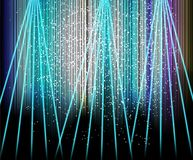 Abstract blurred glowing background with sparks. Royalty Free Stock Photo