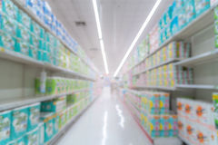 Abstract blurred image of shopping mall background Stock Photography