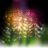 Abstract blurred ink texture backdrop with colored spheres. Stains vector design Royalty Free Stock Photo