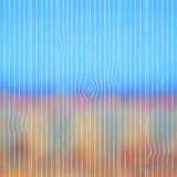 Abstract blurred landscape background with wooden Stock Photos