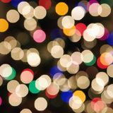 abstract blurred lights Στοκ Φωτογραφία