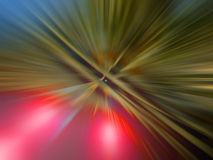 Abstract blurred lights Stock Images