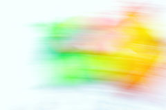 Abstract blurred long exposure camera Stock Photography