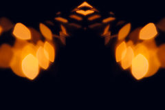 Abstract blurred orange background for Halloween. Royalty Free Stock Photos