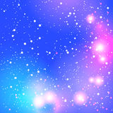 Abstract blurred purple background with bright lights Royalty Free Stock Image