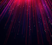 Abstract blurred rays of red and purple color. Moving from top. Graphic illustration background Stock Image