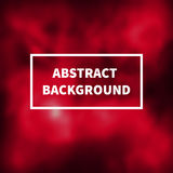 Abstract blurred red background Royalty Free Stock Image