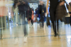 Abstract blurred shopping mall for background Stock Photography