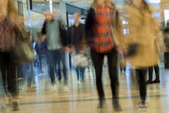 Abstract blurred shopping mall for background Stock Photos