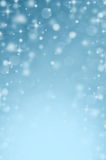 Abstract blurred snow bokeh background Royalty Free Stock Images