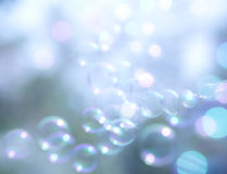 Abstract and blurred soap bubble Royalty Free Stock Photos