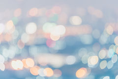 Abstract blurred soft light bokeh background, Pastel colour styl Royalty Free Stock Image