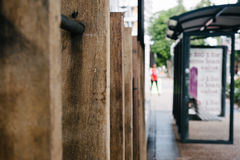 Abstract blurred urban street scene Stock Photography