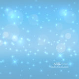 Abstract blurred vector background with sparkle Stock Images