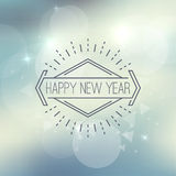 Abstract blurred vector background with sparkle stock illustration