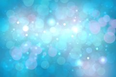 Abstract blurred vivid spring summer light delicate pastel blue pink bokeh background texture with bright soft color circles and royalty free illustration