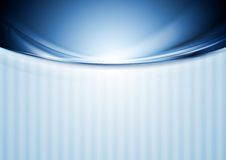 Abstract blurred waves design Royalty Free Stock Photo