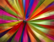 Abstract Blurred Wind Spinner Closeup Royalty Free Stock Images