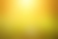 Abstract blurred yellow background Stock Image