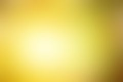 Abstract blurred yellow background Royalty Free Stock Image