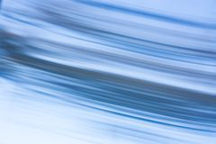 Abstract blurry blue lines. Abstract blurry soft and smooth blue lines in fast motion Stock Photos