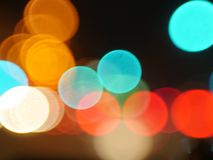 Abstract blur bokeh Stock Photography