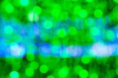 Abstract blurry circular bokeh background Stock Photos