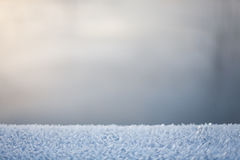 Abstract blurry frozen winter background with neutral colors Royalty Free Stock Photography