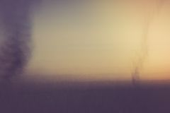 Abstract blurry landscape background of field Stock Image