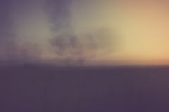 Abstract blurry landscape background of field Stock Photography