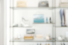 Abstract blurry luxury shop Stock Photos