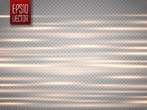 Abstract blurry motion lines  on transparent background. Royalty Free Stock Photos