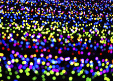Abstract blurry multi-coloured lights Stock Photo