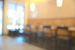 Abstract blurry restaurant Stock Image