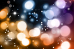 Abstract blurs on dark background Royalty Free Stock Images