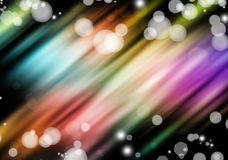 Abstract blurs on dark background Stock Photo