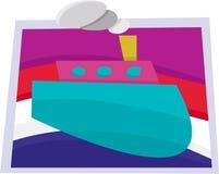 Abstract Boat Stock Photo
