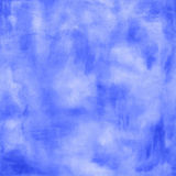 Abstract boho blue watercolor background Stock Photo