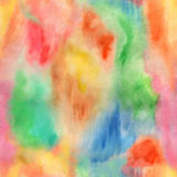 Abstract boho seamless fancy watercolor background Stock Photo