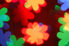 Abstract bokeh. In different colors royalty free stock photo
