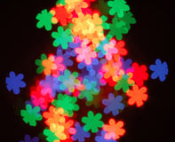 Abstract bokeh. In different color royalty free stock photography
